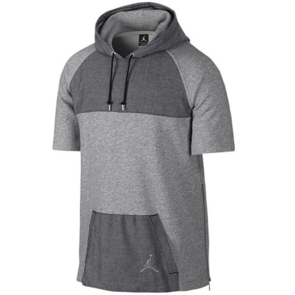 52e1cbc6a433 Jordan Other - Jordans Short Sleeve Hoodie